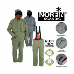 костюм norfin scandic grey дождь xxl